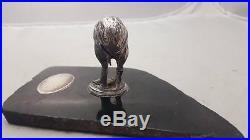 Vintage/antique Rugby Kiwi Trophy- Wellington Rugby Football League Inc Nz 1941