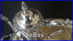 Vintage silver plate coffee & tea set Think Mother's Day