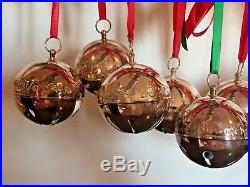 Vtg Lot 10 Wallace Sleigh Bell Reed & Barton Holly Ball Silverplate 70s 80s Fine