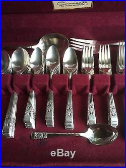 Vintage Silver Plate Vtg Oneida Community Coronation