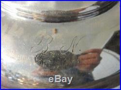 Vtg antique Silver Plate Castor Cruet Condiment Set Victorian