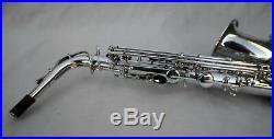 Yamaha YAS-62S Silver Plated Alto Saxophone Rare Purple Logo Dave Koz Vintage
