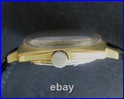 Zenith 28800 Hi-Beat Mechanical Automatic Vintage Gold Plated 20 Men's Watch
